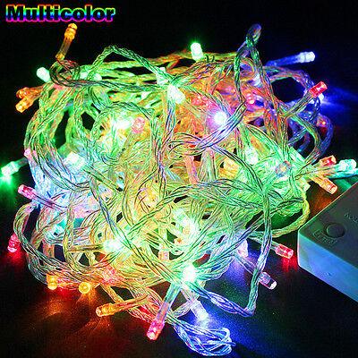 Hotsale 10M/20M 100/ 200LED Bulbs Christmas Fairy Party String Lights Waterproof