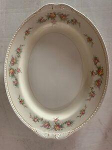 Homer-Laughlin-Eggshell-Georgian-Eggshell-Oval-Serving-Platter-Plate-15-5-X-12-5
