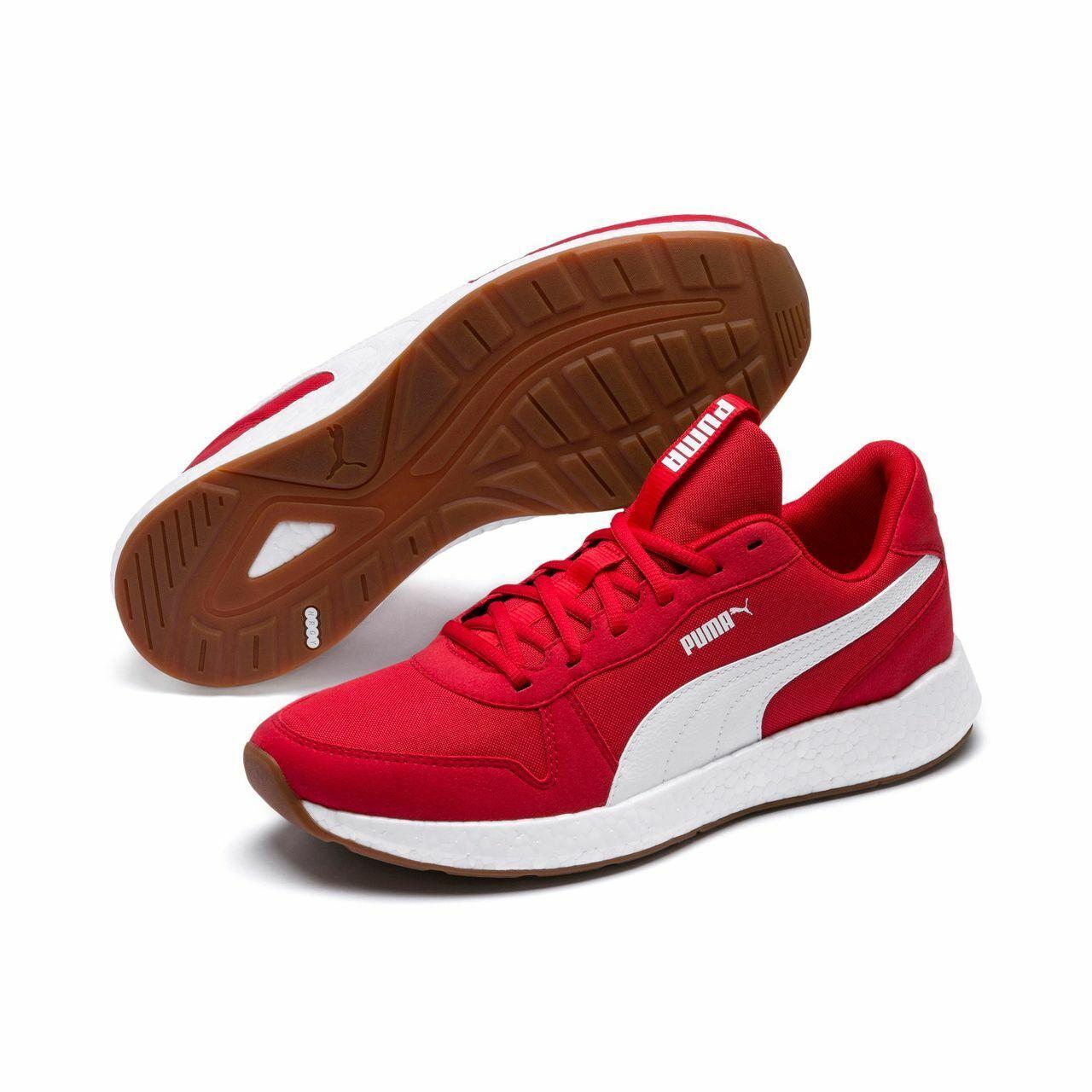 Puma Hombre Nrgy Neko Retro Exterior Zapatos para Fitness Rojo 192509 01