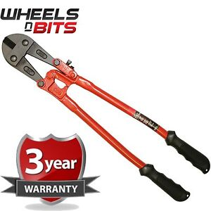 """24"""" 600mm Heavy Duty Hardened Carbon Steel Bolt Cutter Tool Wire Cable Cutting"""