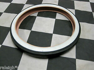 White-Wall-20-034-Bicycle-Slick-Tire-fits-Vintage-Muscle-Bike