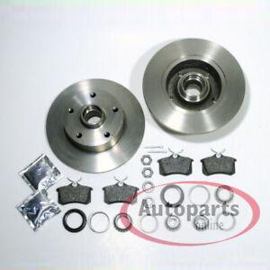 Bremsscheiben Bremsen Bremsbeläge Radlager für hinten Hinterachse C4 Audi A6