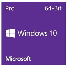 Windows 10 Professional 64 bit DVD with Product key