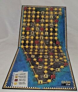 Cash-Cab-Replacement-Board-Game-NYC-Manhattan-New-York-City-ONLY-Wall-Decor