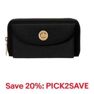 baggallini Women's Kyoto Nylon Wallet, RFID,Multiple Colors,20% off:PICK2SAVE