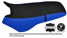 BLACK & R BLUE CUSTOM FITS SEA DOO XP 93-96 AUTOMOTIVE VINYL SEAT COVER + STRAP