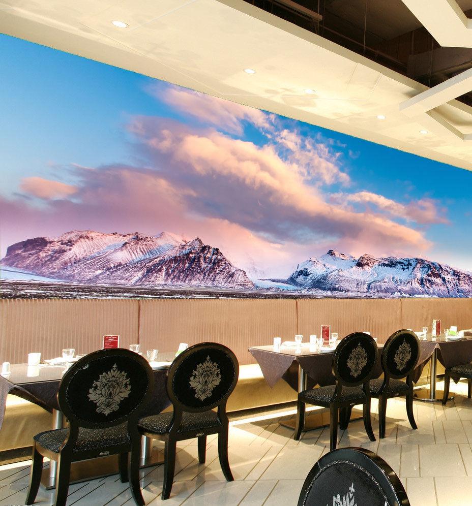 3D Wolken Schnee Berge Berge Berge 75 Tapete Wandgemälde Tapete Tapeten Bild Familie DE | New Listing  | Starke Hitze- und Hitzebeständigkeit  |  6cd56c