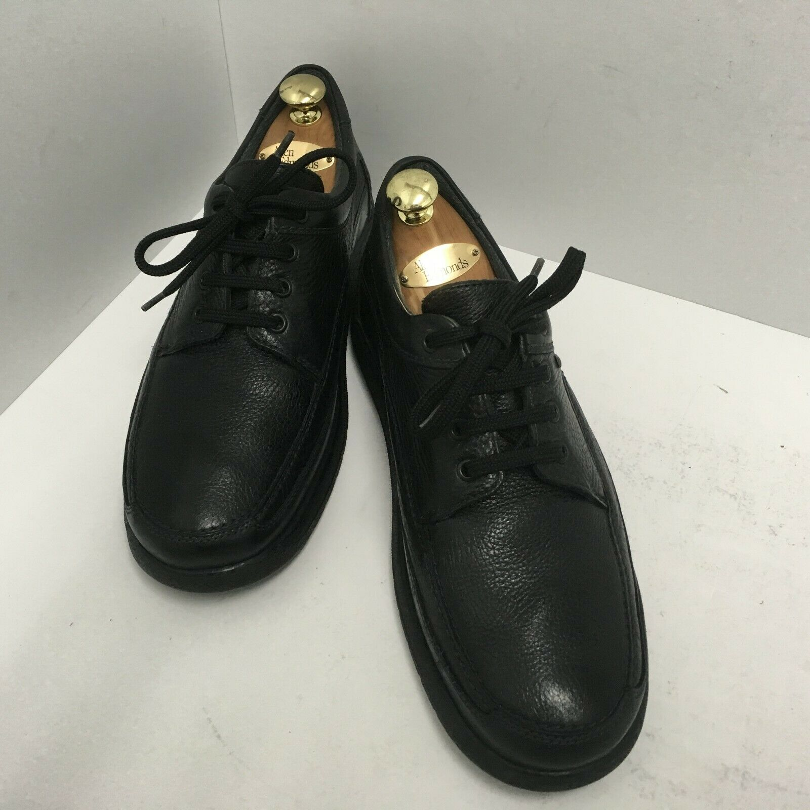 Mephisto Gore-Tex Black Leather Lace Up Walking shoes  Travel's  Men's Sz 9.5