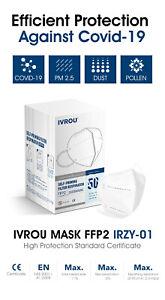 FFP2 Masken / N95, IVROU Qualitätsmasken, CE- und DEKRA Zertifiziert