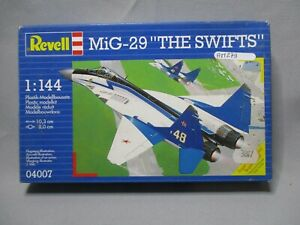 AM279-REVELL-1-144-MAQUETTE-AVION-MIG-29-THE-SWIFTS-REF-4007-TRES-BON-ETAT