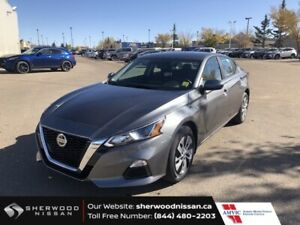 2020 Nissan Altima S AWD 2.5 CVT AWD APPLE CARPLAY/ANDROID AUTO, HEATED FRONT SEATS, 8-WAY POWER DRIVER SEAT, REARVIEW
