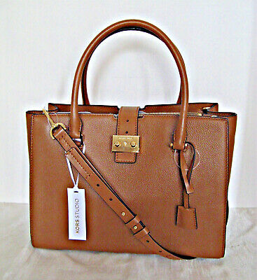 Michael Kors Bond Large Leather Satchel Acorn Build a Bond Kors Studio 190864486925 | eBay