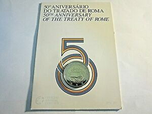 2 Euro  Coincard BU Portugal 2007 -   Traité de Rome