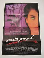 Cat People Movie Poster - Original 1982 Poster Nastassia Kinski Poster