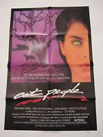 Cat People Movie Poster - Original 1982 Poster Nastassia Kinski Poster