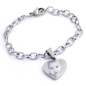 Braccialetto-con-cuore-in-acciaio-inossidabile-personalizzato-con-foto-testo