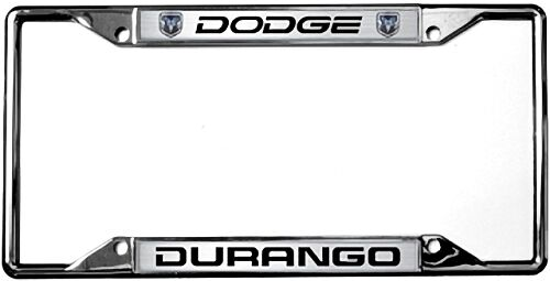 6406dl eurosport daytona mopar license plate frame with dodge durango logo ebay - Dodge License Plate Frame