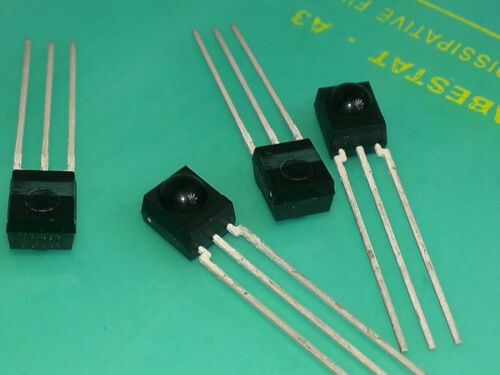 2 trozo TSOP 4838 ir receiver módulos side view for remote control 38khz m6566