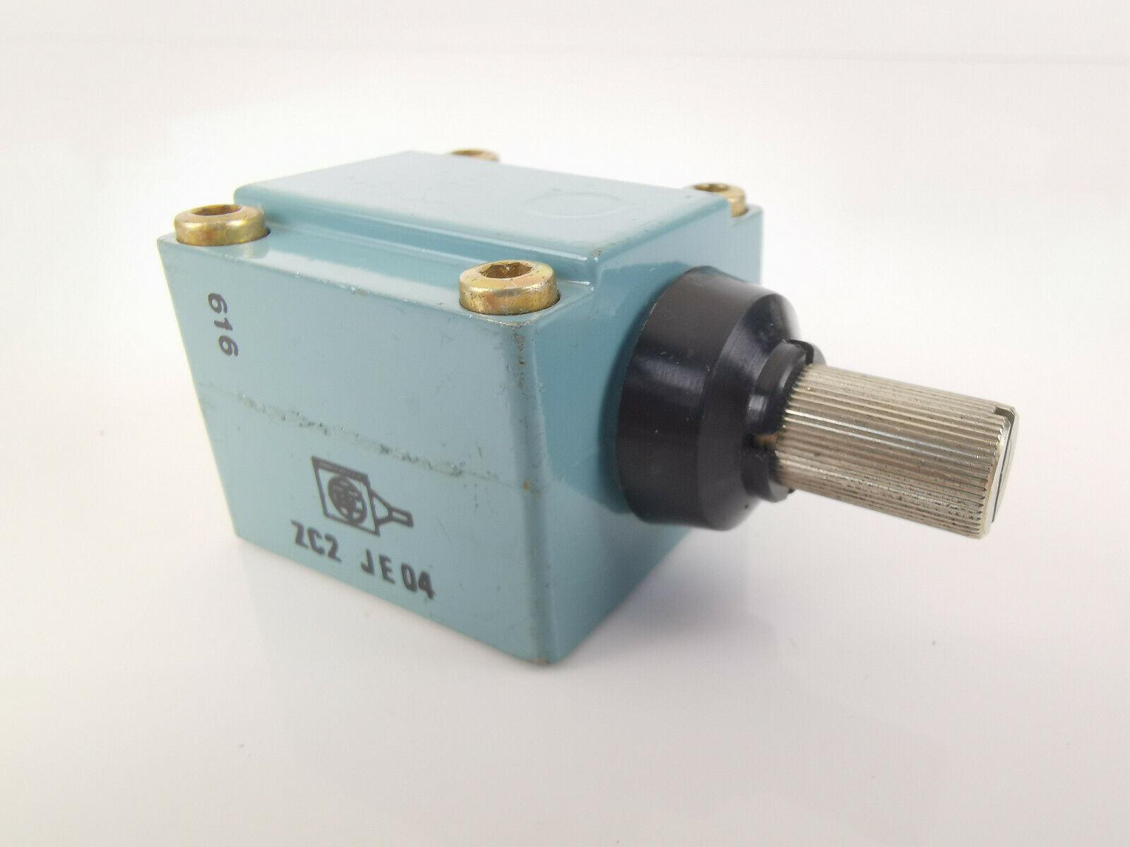Telemecanique ZCEF2 Arbeitskopf mit Rollen 019102 Endschalter Schneider Electric