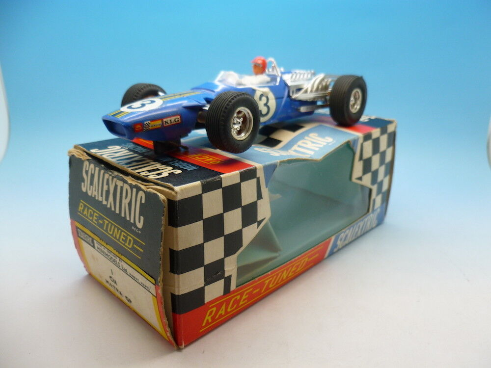 Scalextric C14 Matra GP Mint example and boxed No.3, see description