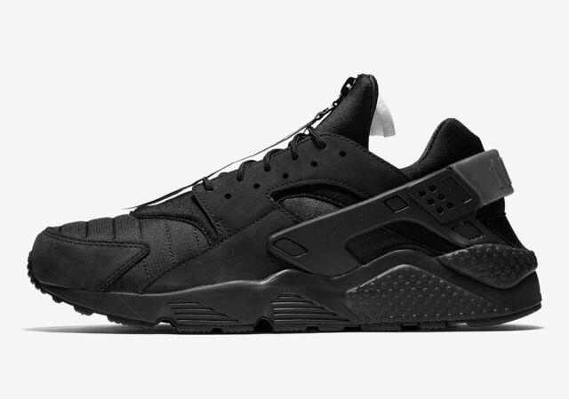 pretty nice d7f2d 926a2 Nike Men s AIR HUARACHE RUN QS Shoes Black AJ5578-001 b