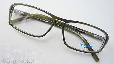 Guys Only Acetatfassung Gerade Form Männerbrille Federscharnier 56-13 Size M Eleganter Auftritt
