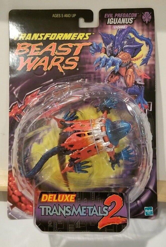 Vintage Transformers Beast Wars Transmetal 2 Iguanas - MOC