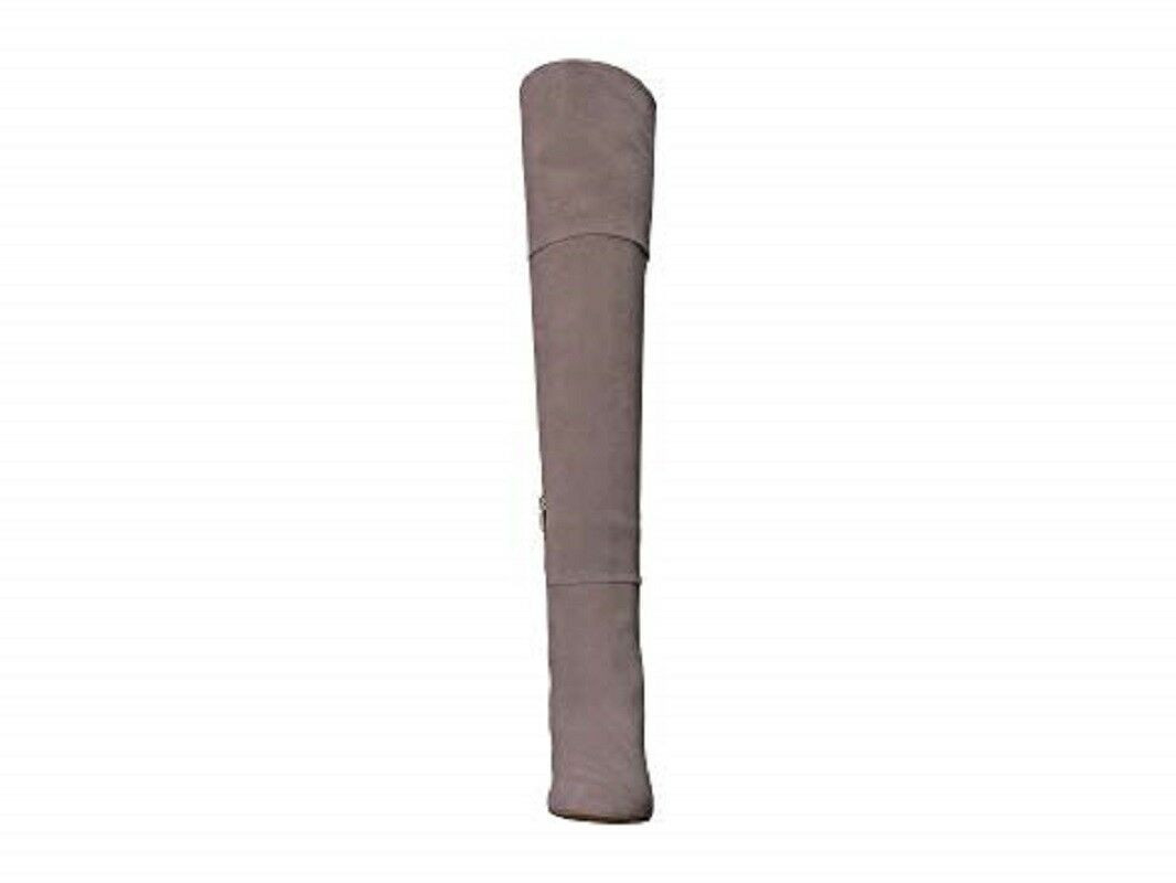 TARYN Suede ROSE Catherine Gray Suede TARYN Leder Over The Knee Stiefel SZ 6 NEW 375 862559