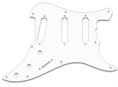 BULLET® 80/'s HUMBUCKER WHITE PG f FENDER® 3 PLY WBW PICKGUARD USA MADE QUALITY