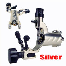 New Rotary Tattoo Machine Gun Dragonfly Shader Liner for Kit Needle Ink Silver