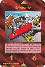 Illuminati INWO Card Schweiz - Switzerland german limited Mint 06