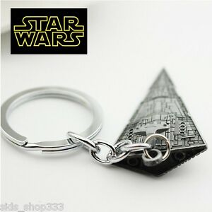 star wars imperial star ship full metal key chain keychain