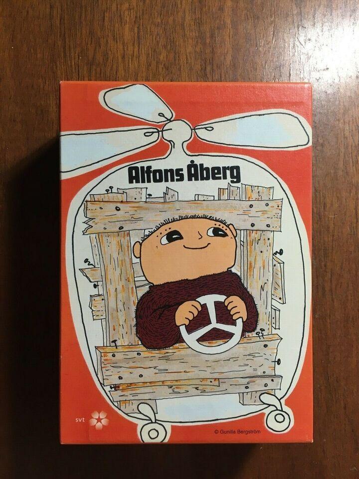 Alfons Åberg DVD box, instruktør ...., DVD