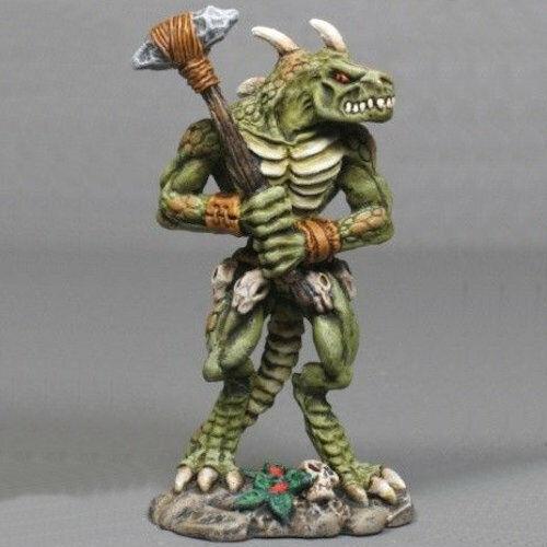 Reaper Dark Heaven Legends 02351 S'athka Lizardman Monster Lizardfolk  Lizard Men