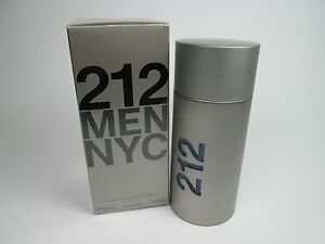 18d58fd8e Carolina Herrera 212 Men NYC 3.4oz 100ml Men s EDT Perfume ORIGINAL ...