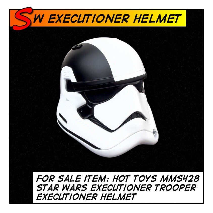 HOT TOYS Star Wars First Order Executioner Trooper Helmet MMS428 1/6 scale Storm
