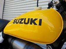 SUZUKI RM125 250 370 / TS250 Tank Decal Stickers 68111-41100-019 6811 AHRMA 1976
