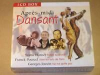Coffret 3 Cd / Apres Midi Dansant / Y. Horner, G. Jouvin, Fr. Pourcel / Neuf