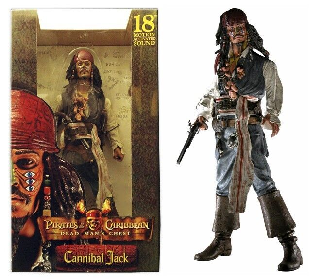 Cannibal Jack from Pirates of the Caribbean Caribbean FIGURE 18   NEW IN BOX SEALED