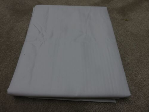 White thermal blackout lining crafts remnant fabric material piece 120x100cm