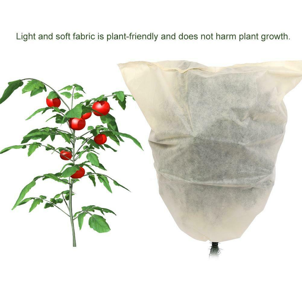 3Pcs Warm Plant Cover Bag for Garden Tree Flower Shrub Sunblock Frost Protection