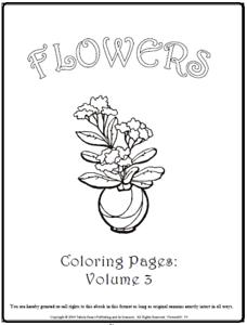 Details Zu Malbuch 53 Malvorlagen Blumen Nr3 Ausmalbilder Als Pdf Kinder Malen