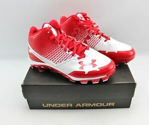 Under Armour Mens Spine Heater Mid Tpu Baseball Cleats