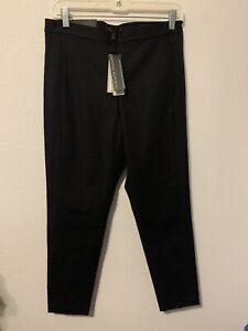 NWT Banana Republic Petite Black Devon Ankle Pants High Rise SZ 10P MSRP $88