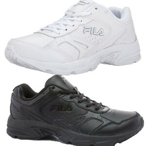 mens fila workplace work school all black or white