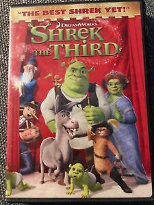 Shrek The Third Dvd 2007 Full Screen Version 97361312149 Ebay