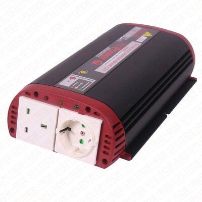 Sterling Power 12V 800W ProPower Q Quasi Sine Wave Inverter Inc RC i12800