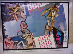 1986 GT Poster Bmx