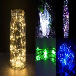 2m LED Lichterkette Weihnachten Innen Außen Beleuchtung Party Garten;