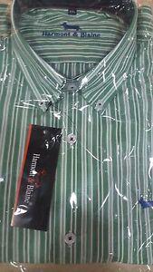 Camisa-Harmont-amp-Blaine-quadros-SS07-M-L-XL-XXL-XXXL-NUEVAS